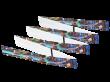 RFID Fan Fold Wristband NXP I Code SLI-S 13.56 MHz