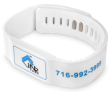 RFID Flat Face Snapband NXP NTAG216 13.56 MHz