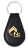 RFID Leather Key Fob NXP I Code SLI-X 13.56 MHz