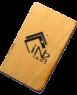RFID NFC Wood Key Cards NXP I Code SLI-S