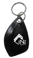 Shark Tooth ABS Key Fob EM Microelectronic EM4305