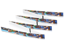 RFID Fan Fold Wristband EM Microelectronic EM4200 125 kHz