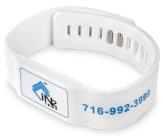 RFID Flat Face Snapband NXP MIFARE Plus S 2K 13.56 MHz