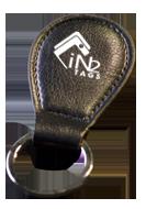 Leather Key Fob Atmel ATA5577