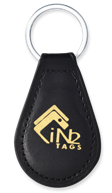 RFID Leather Key Fob EM Microelectronic EM4305 125 kHz