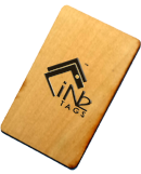 RFID Wood Key Cards EMMicroelectronic EM4305