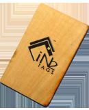 RFIC Wood Key Cards Atmel ATA5577